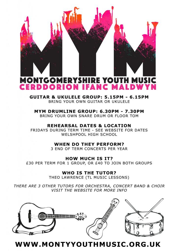 MYM-drums-guitar--ukulele-A4-poster-2016